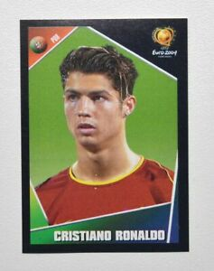 Panini UEFA Euro 2004 Sticker #23 Cristiano Ronaldo