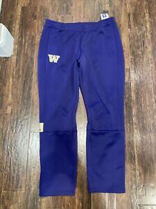 Adidas Washington Huskies Purple Game Mode Sweat Track Pants Size 2XL (2X-LARGE)