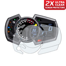 Kawasaki Ninja 250/400/650 2017+ Dashboard Screen Protectors 2 x Ultra Clear