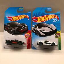 Hot Wheels Lot 2X McLaren P1 Then and Now 8/10 / McLaren P1 HW Exotics 4/10 CL21
