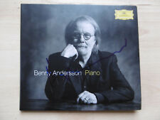 """Benny Andersson """"ABBA"""" Autogramm signed CD Booklet (Cover) """"Piano"""""""