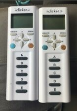 (2) iClicker 2 Student Remote (2nd Edition) TESTED