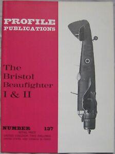 Aircraft Profile Publications magazine No 137 Bristol Beaufighter I & II