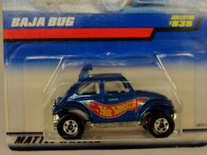 1998Mattel Hot Wheels Baja Bug Blue Collector #835 NIB
