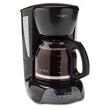 Mr. Coffee Simple Brew 12-Cup Maker, Black