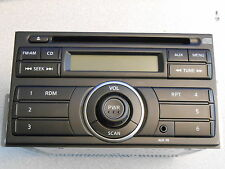 2012 NISSAN CUBE NV FACTORY CAR RADIO AM / FM CD PLAYER OEM CLARION STEREO 2 DIN