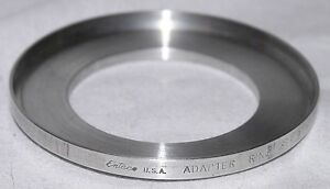 Enteco 58.5 (or 58mm) to Series 9 Filter Adapter Ring #902 (Tiffen #907)
