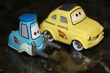 "DISNEY PIXAR CARS 2  ""GUIDO AND LUIGI"" LOOSE, WORLDWIDE SHIPPING"