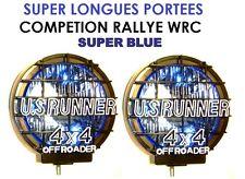 LIGHTFORCE HELLA CIBIE OSCAR! 2 BEAUX PHARES 24CM LONGUE PORTEE HALLUCINANTS !