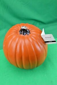 """9"""" Asland Orange Foam Carvable Pumpkin Decoration"""