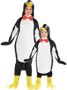 Child Penguin Fancy Dress Costume Funny Animal Kids Zoo Xmas Christmas Outfit