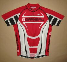 Louis Garneau Men's Cycling Jersey Size Medium Polyester Full Zip Race Fit