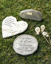 Pet memorial garden stone or grave marker. Cat dog guinea pig horse bird reptile