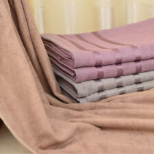 Large 27x 55'' Soft Bath Towel For Bathroom Hotel Bamboo fiber 400g