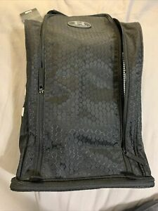 UA Under Armour Team Shoe Bag Quick-Dry Water Repellent Athletic Gym Black