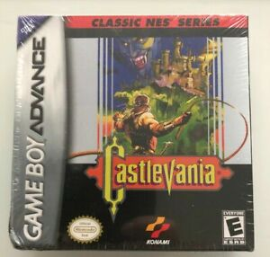 Castlevania Classic NES Series Nintendo Game Boy Advance / GBA NEW & Sealed 2004