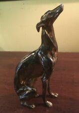 "Vintage Jb Jennings Rare "" Sitting "" Whippet Greyhound - 1930'S"