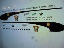 Colorado Highway Patrol State Trooper Decals   1:24 Custom