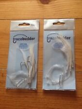 Sea Fishing Lures Cod Feathers 5/0 Hooks Small Joblot 5 pkts only 6.99