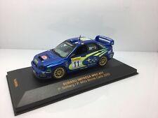 IXO MODELS échelle 1/43 RAM080 SUBARU WRC MONTE CARLO 2002 Solberg/Mills