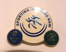 SYDNEY AUSTRALIA 2000 OLYMPIC PINS TRADING, COLLECTING - 1 x SPORTING INJURIES