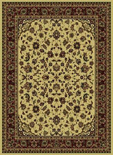 2x8 Runner Radici Ivory Persian Border 953 Area Rug - Approx 2' 2'' x 7' 7''