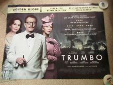 Trumbo - Genuine Film Quad Poster