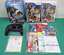 Nintendo Wii - Monster Hunter Tri - Classic Controller Pro Black - *JAPAN* 54032