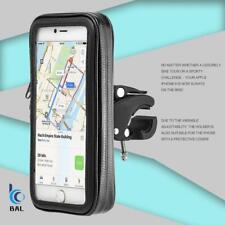 Waterproof Mobile Phone 360° Case Mount Holder Motorbike Bicycle Bike Stand