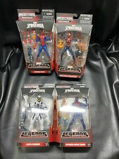 LOT of 4 2015 Hasbro MARVEL LEGENDS Spider Man / Girl Anti Venom Spider Man 2099