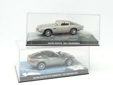 UH prensa James Bond 007 1/43 - Lote de 2 Aston Martin DB5 et V12 Vanquish