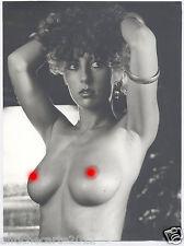 0991 GRANDE FOTOGRAFIA NUDO ANNI 70 BIG PHOTO NUDE NAKED RISQUE PINUP GLAMOUR
