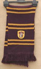 GRYFFINDOR Harry Potter Thick Wool Knit Scarf Soft Burgundy Mustard 2m x 24 cm