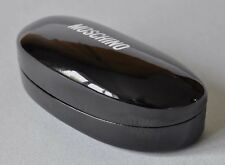 MOSCHINO Sunglasses / Glasses Case Black Lunettes Gafas Specs Hard Case Designer