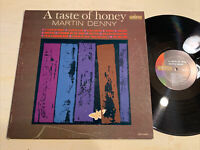 EXOTICA Martin Denny A Taste Of Honey LP Liberty Mono EX!!!