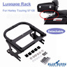 Motorcycle Two-up Tour Pak Pack Luggage Rack For Harley Touring Road King 97-08