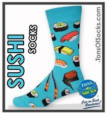 Men's Sushi Socks (Turquoise)