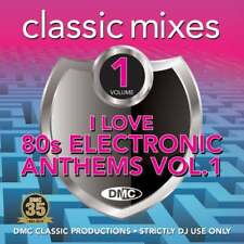 DMC I Love 80s Electronic Anthems Continuous Megamixes Remix & DJ CD Mixes