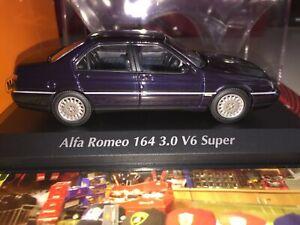 940120700 MAXICHAMPS MINICHAMPS 1 43 ALFA ROMEO 164  DARK BLUE METALLIC NEW RAR
