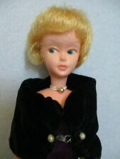 American Character Mary Makeup Doll, Tressy's Friend, Barbie Type, Velvet Dress