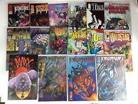 Image Comics Lot of 16 Kindred Maxx Team 7 Knightmare Wildstar Kin ALL LISTED