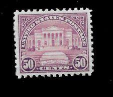 US 1932 Sc# 701 ~ 50 c  Arlington Amphitheater Mint NH - Centered - GEM