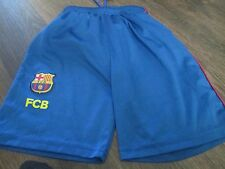 Barcelona FCB Rogers Football Shorts 14 Years waist  /bi