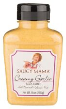 (Case of 6) Saucy Mama All Natural Creamy Garlic Mustard