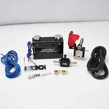 DUAL STAGE SETTING W/ ROCKET SWITCH TURBO WASTEGATE BOOST CONTROLLER BLACK