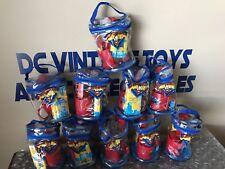 New 1996 DC Comics Superman Super Hero Kidcare Locker Bag Lot Of 10 CHEAP LOOK