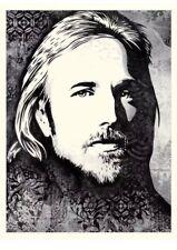 Tom Petty An American Treasure Screen Print Poster Shepard Fairey Obey Giant #2