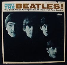 THE BEATLES-Meet The Beatles-VG++ to Near Mint Vinyl Album-CAPITOL #T 2047