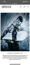 Snowboard Armani Ea7 Limited Winter Sale Designer Brand New!