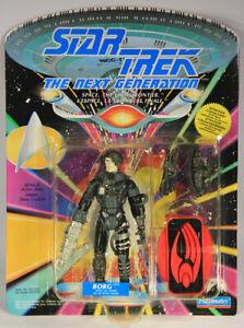 1992 Star Trek Next Generation Borg Action Figure Canadian FR-ENG L015317